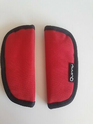 £7 • Buy QUINNY Zapp Red SHOULDER/CHEST PADS For Harness/Straps Of Seat Unit