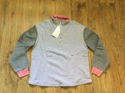 £7 • Buy Michelle Keegan Long Sleeved Sweatshirt Grey And Pink Size 8 New With Tags
