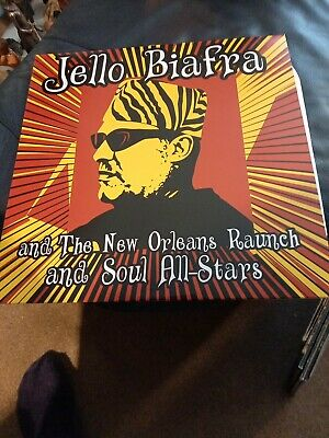 £14.99 • Buy Jello Biafra And The New Orleans Raunch And Soul All-Stars - Walk On Jindals ...