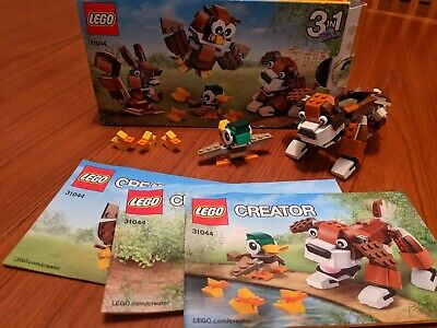 £7 • Buy Lego 3 In 1 Creator Set No. 31044 With Box And Instructions, Dog, Ducks Etc