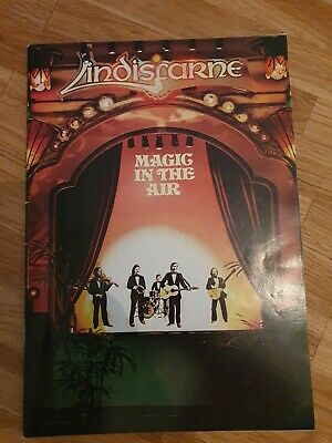 £5 • Buy Signed Lindisfarne  Magic In The Air  Concert Programme - Sheffield 1978