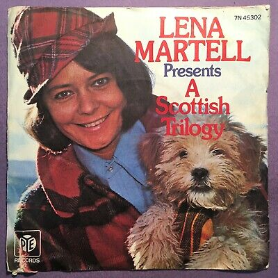£3.99 • Buy Lena Martell - A Scottish Trilogy (7  Single) Picture Sleeve 7N 45302
