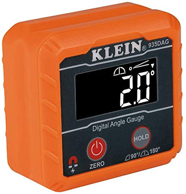 AU56.31 • Buy Klein Tools 935DAG Digital Electronic Level And Angle Gauge, Measures 0 - 90 And