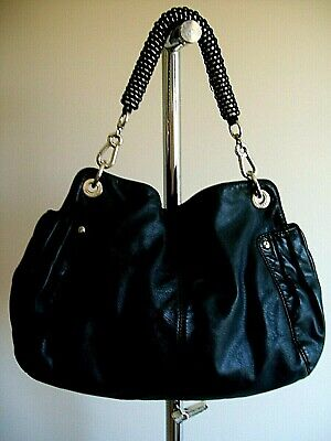 AU29.95 • Buy Lovely Large Leather Tote Hand Bag  By Oroton,  Vg Condition, Black, Heavy Duty
