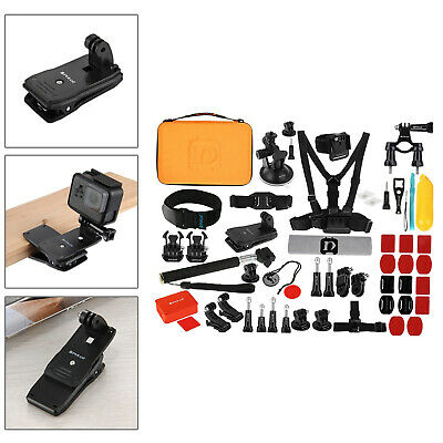 AU59.47 • Buy 53-in-1 Accessories Kit For GoPro Hero 7 6 5 2 Cycling Deep Water Activities