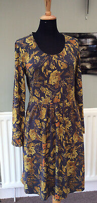 AU22.56 • Buy BRAINTREE Thoughtful Clothing Comfortable Tunic Style Dress, Autumnal Colours L