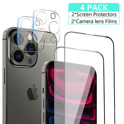 AU7.99 • Buy For IPhone 13 12 11 Pro Max Tempered GLASS Screen Protector Camera Lens Cover