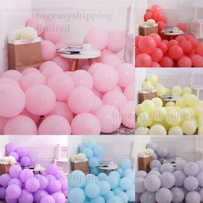 £3.49 • Buy 5  10  12  PASTEL Balloons Birthday LATEX Ballons Baby Shower Party Decoration