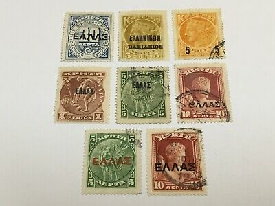 £1.40 • Buy Old Stamps  CRETE     X  8 Optd