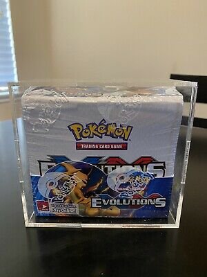 $850 • Buy Pokemon TCG: XY Evolutions Sealed Booster Box With Acrylic Case