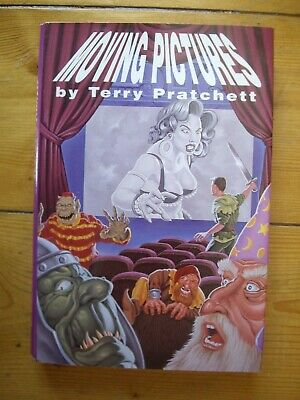 £39.99 • Buy Moving Pictures By Terry Pratchett, 1990 Hardback