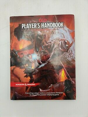 AU28.98 • Buy D&D Dungeons & Dragons 5th Edition Player's Handbook