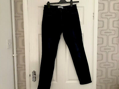 £2 • Buy Next 12R Black Relaxed Skinny Mid-Rise Jeans