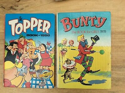 £1.20 • Buy Old childrens Bunty And Topper Books