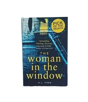 AU14 • Buy The Woman In The Window By A.J. Finn. Large Paperback Book, 2018