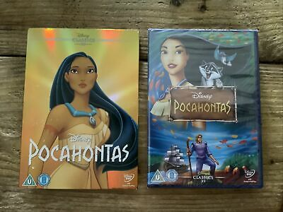 £3.49 • Buy Disney Pocahontas DVD Classic 33 On Spine  With O Ring Slip Cover Brand New
