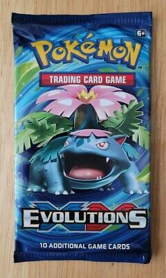 $12.21 • Buy Pokemon XY Evolutions Booster Pack, Never Weighed Or Tampered With