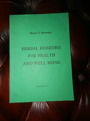 £14.99 • Buy Herbal Remedies For Health & Well Being - Marcus T. Bottomley - Finbarr 89 Rare