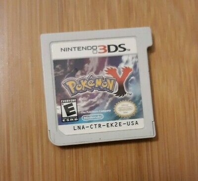 $31 • Buy Pokemon Y Nintendo 3DS Cart Only Authentic Tested