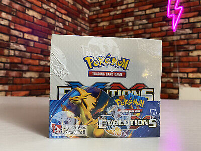 $845 • Buy Pokemon TCG: XY Evolutions Sealed Booster Box - Pack Of 36