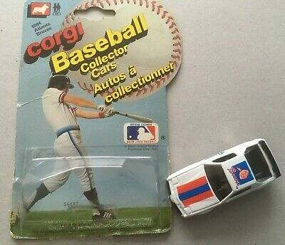 AU4.25 • Buy CORGI Baseball Collector Car  With Opened Packaging  BRAVES   White Cart