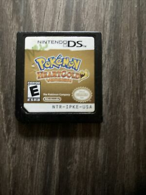 $117.99 • Buy Pokemon HeartGold Version (Nintendo DS) -- Authentic Game Cart --