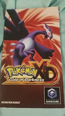 $70 • Buy Pokemon Xd Gale Of Darkness Gamecube Manual Only