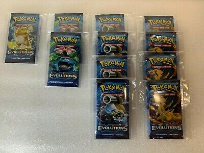 $199.99 • Buy ✅ 11 XY EVOLUTIONS Booster Pack Lot - Factory Sealed From Box Pokemon Cards ✅