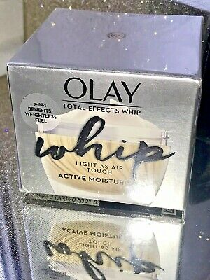 AU27.95 • Buy  Olay Total Effects Whip Light As Air Active Moisturiser 7-in-1 Benefits 50ml