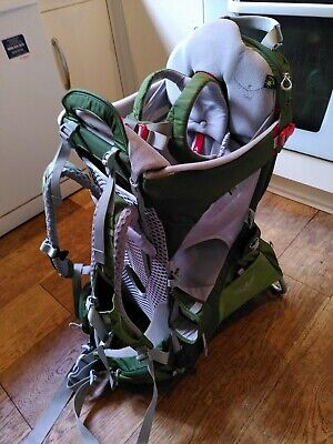 £80 • Buy Osprey Poco Plus AG Unisex Hiking Baby Carrier Backpack - Ivy Green