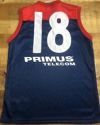 AU795 • Buy AFL MELBOURNE DEMONS Brad Green Player Issue Guernsey Signed - Premiers Gawn