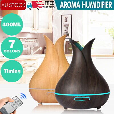 AU19.90 • Buy Aroma Aromatherapy Diffuser LED Essential Oil Ultrasonic Air Humidifier Purifier