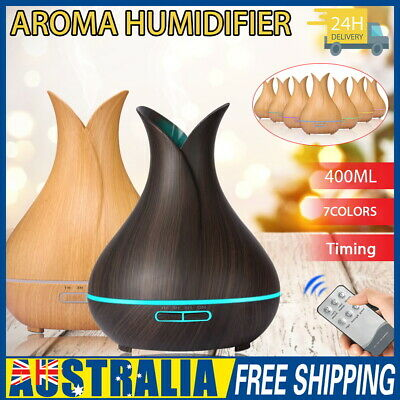 AU22 • Buy Aroma Essential Oil Diffuser Air Purifier LED Ultrasonic Aromatherapy Humidifier