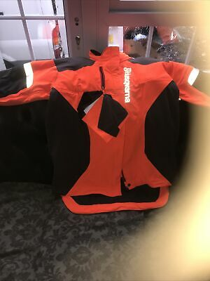 £150 • Buy Husqvarna Forest Jacket Technical Arbor Chainsaw Jacket Size L (54-56)