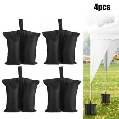AU33.29 • Buy 4x Sand Bag Heavy Duty Weights Bags For Garden Party Gazebo Tent Awning Canopy