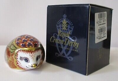 £44.99 • Buy Royal Crown Derby Orchard Hedgehog + Box - Made In England