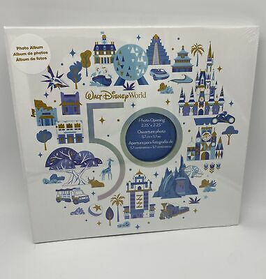 £24.17 • Buy Disney WDW 50th Anniversary Most Magical Celebration Parks Icons Photo Album New