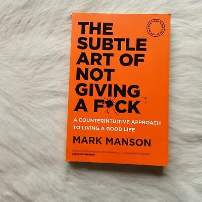 AU19.57 • Buy Mark Manson THE SUBTLE ART OF NOT GIVING A F*CK Approach To Living A Good Life