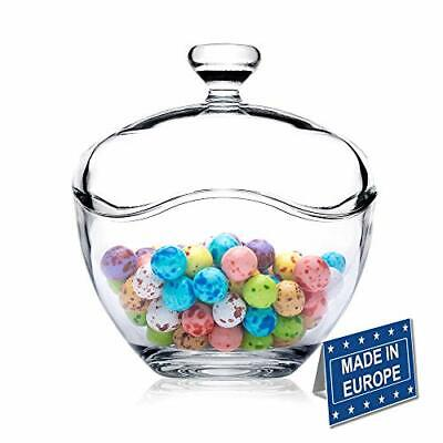 £22.52 • Buy Candy Jars For Candy Buffet Candy Dish With Lid Glass Bowl And Food Storage C...