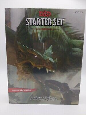£16.21 • Buy Dungeons And Dragons Starter Set Dice Fantasy Role Playing Game D&D Brand New