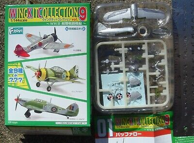 AU40.34 • Buy F-Toys 1:144 Wing Kit 9 Special Brewster Buffalo USN Felix The Cat Squadron 1SP