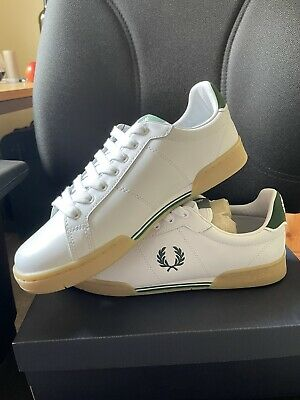 £37.29 • Buy Fred Perry B722 Men's Trainers Sneakers Shoes White UK Size 8/EU 42 B6202 New