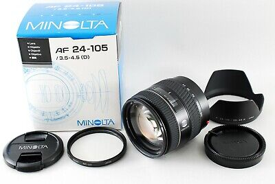 AU158.90 • Buy Near Mint!! Minolta AF 24-105mm F3.5-4.5 D Lens For Sony A Mount From Japan 1793