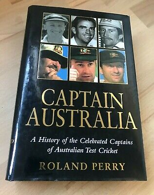 AU17.50 • Buy Captain Australia ~ By Roland Perry (Hardcover Book) *Free Postage*