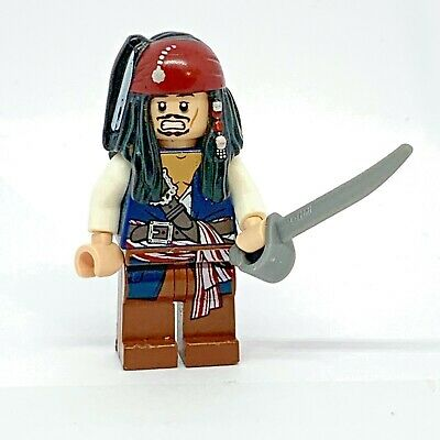 £5.40 • Buy Lego Jack Sparrow Sword Mini Figure Pirates Of The Caribbean  2011 Collectable