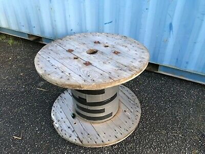 £40 • Buy Wooden Cable Drum Table