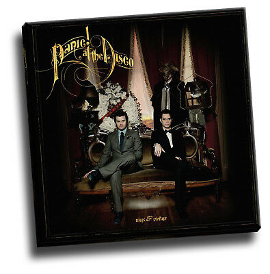 £18.60 • Buy Panic! At The Disco - Vices & Virtues Canvas Album Cover Picture Art