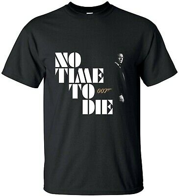 £7.99 • Buy James Bond 007 2020 No Time To Die Inspired T-Shirt Action Hero Drama Tee Top