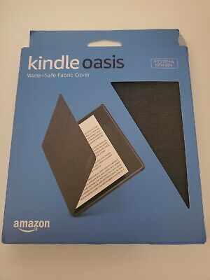 AU17.96 • Buy Amazon Kindle Oasis Water-Safe Fabric Cover (9th & 10th Gen Only) - Charcoal BLK