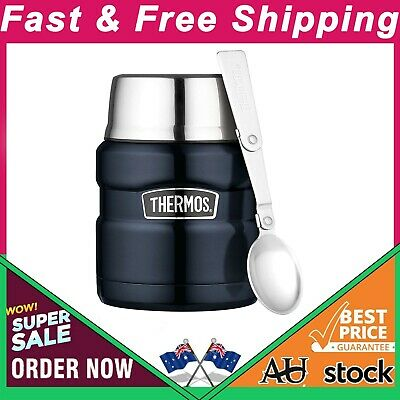 AU35.97 • Buy Thermos Stainless King Vacuum Insulated Food Jar (Midnight Blue) - 470mL Au